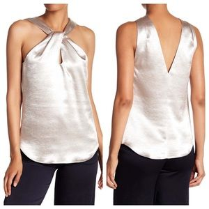 Ramy Brook Andrea Gold Top - Size XS